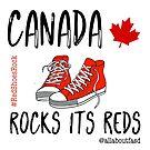 Canada Rocks Its Reds by oursacredbreath