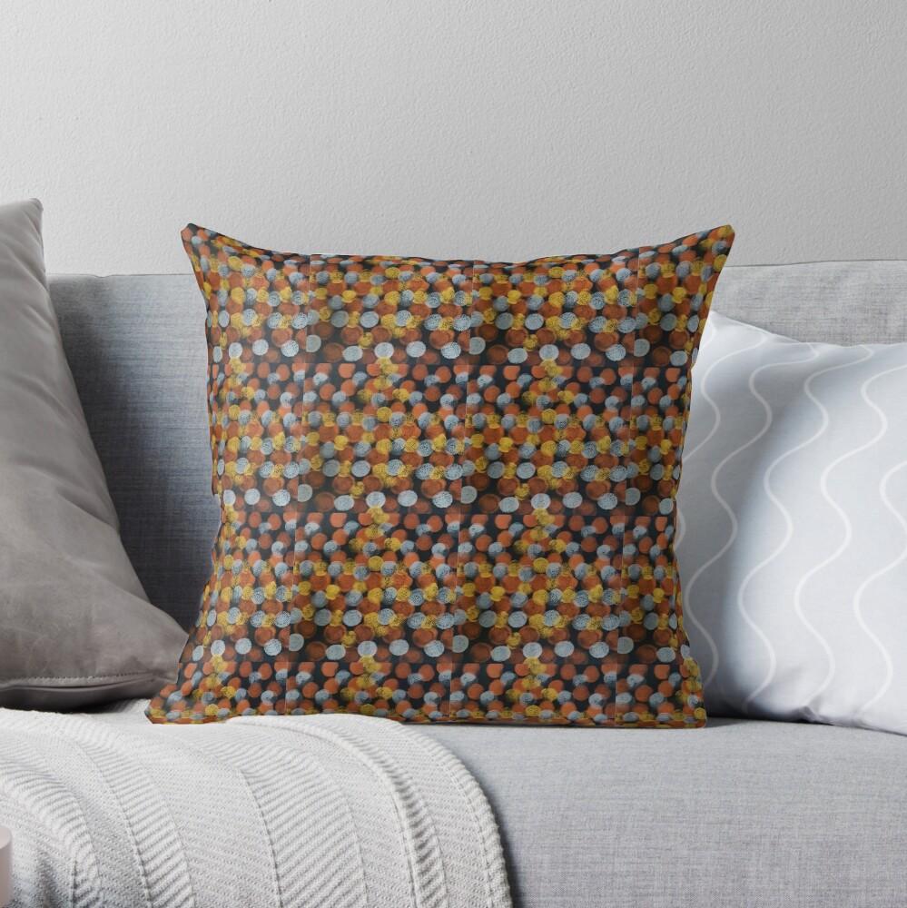 Dats Dots Throw Pillow