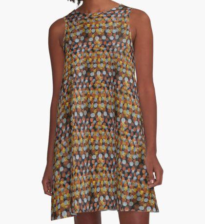 Dats Dots A-Line Dress