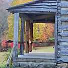Cabin Porch by James Brotherton