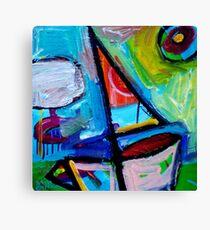 SAILING  3  Canvas Print