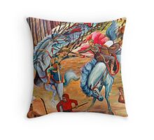 Thai Art Throw Pillow