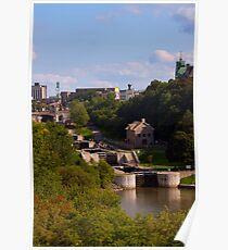 Rideau Canal Locks - Ottawa Poster