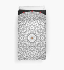 20 Points on a circle Duvet Cover