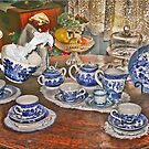 Tea at Nannas but she's no longer here by Kym Howard