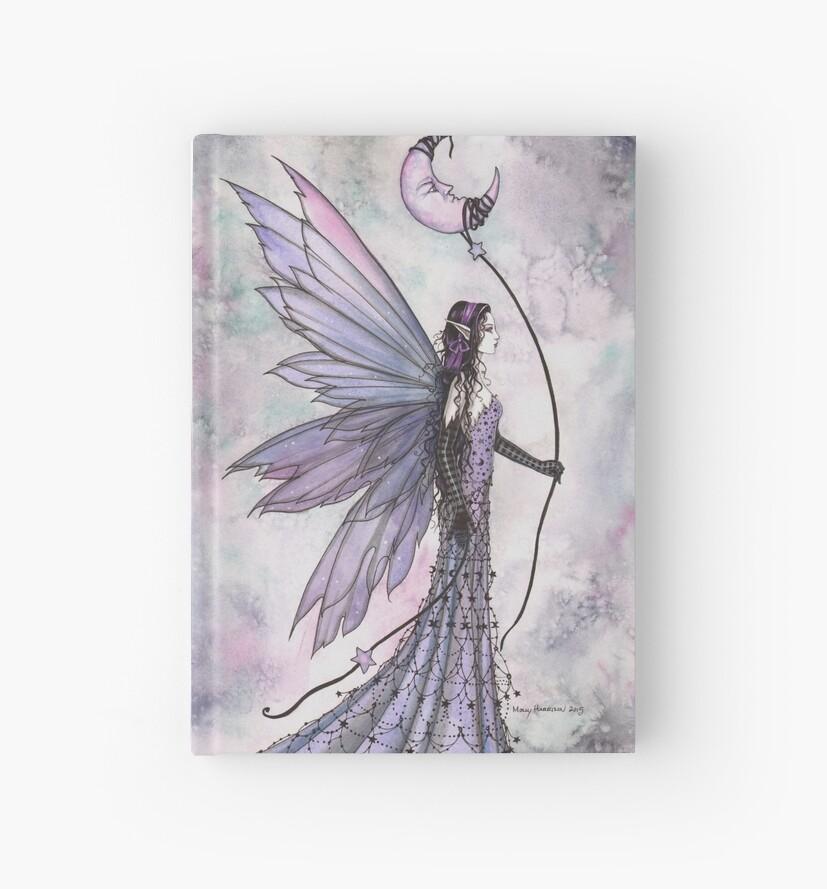 Captive Moon Fairy Fantasy Art Illustration  by Molly  Harrison
