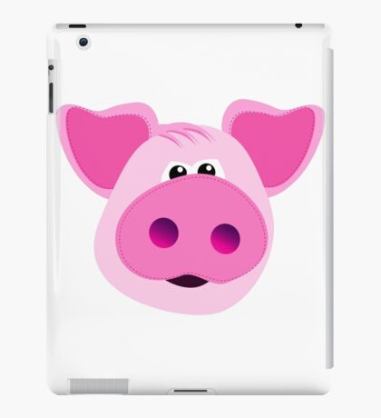 Big Pink Piggy! iPad Case/Skin