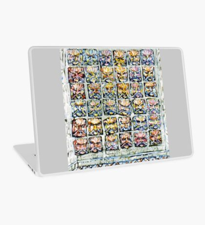 Faces - Brianna Keeper Paintings Laptop Skin