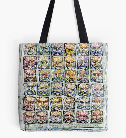 Faces - Brianna Keeper Paintings Tote Bag