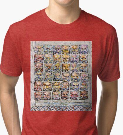Faces - Brianna Keeper Paintings Tri-blend T-Shirt