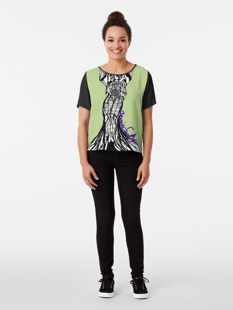 Alternate view of Woman Within3 Chiffon Top
