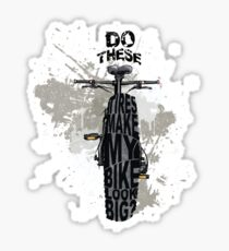 Fat bikers unite! Sticker