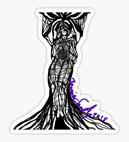 Woman Within1 Glossy Sticker