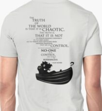 A rudderless universe Unisex T-Shirt