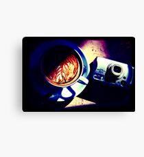 Coffee. Lomography Canvas Print