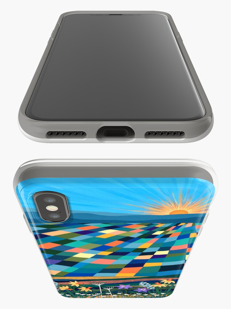 Alternate view of Bright Sun Shiny Day iPhone Cases & Covers