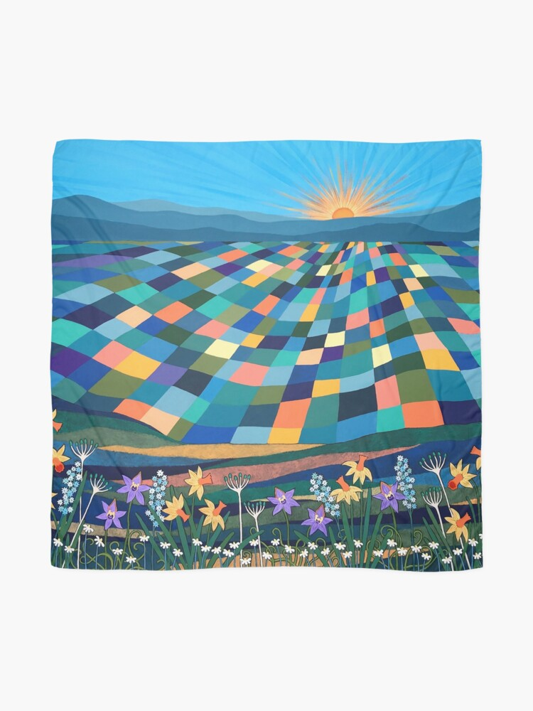 Alternate view of Bright Sun Shiny Day Scarf