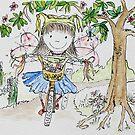 Jodi - Burning on your bike Fairy by Amanda  Hazlett