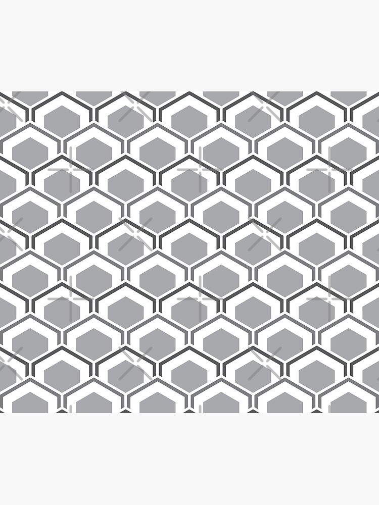 Mid Century Modern Hexagons by Makanahele