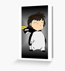 Penguin Onesie!!! Greeting Card