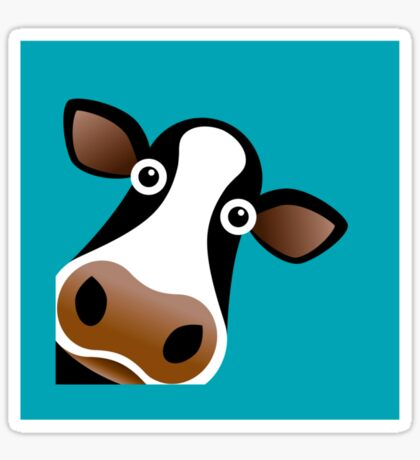 Moo Cow Sticker