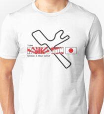 Team Rising Sun - White Tshirt Version Unisex T-Shirt