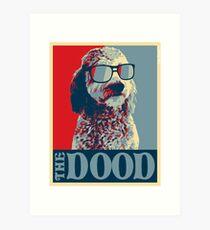 Die Dood ™ Goldendoodle Kollektion Kunstdruck