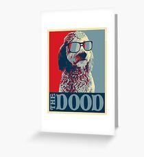 Die Dood ™ Goldendoodle Kollektion Grußkarte