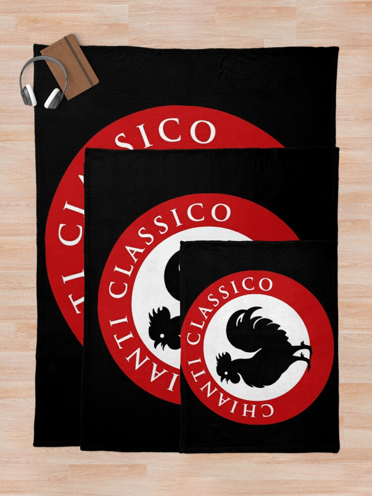 Alternate view of Black Rooster Chianti Classico Throw Blanket