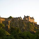 Edinburgh Castle Scotland by Richie Wessen