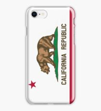 Patriotic Flag of California Republic iPhone Case/Skin