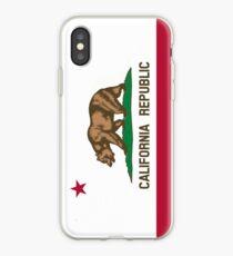 Patriotic Flag of California Republic iPhone Case