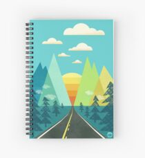 the Long Road Spiral Notebook