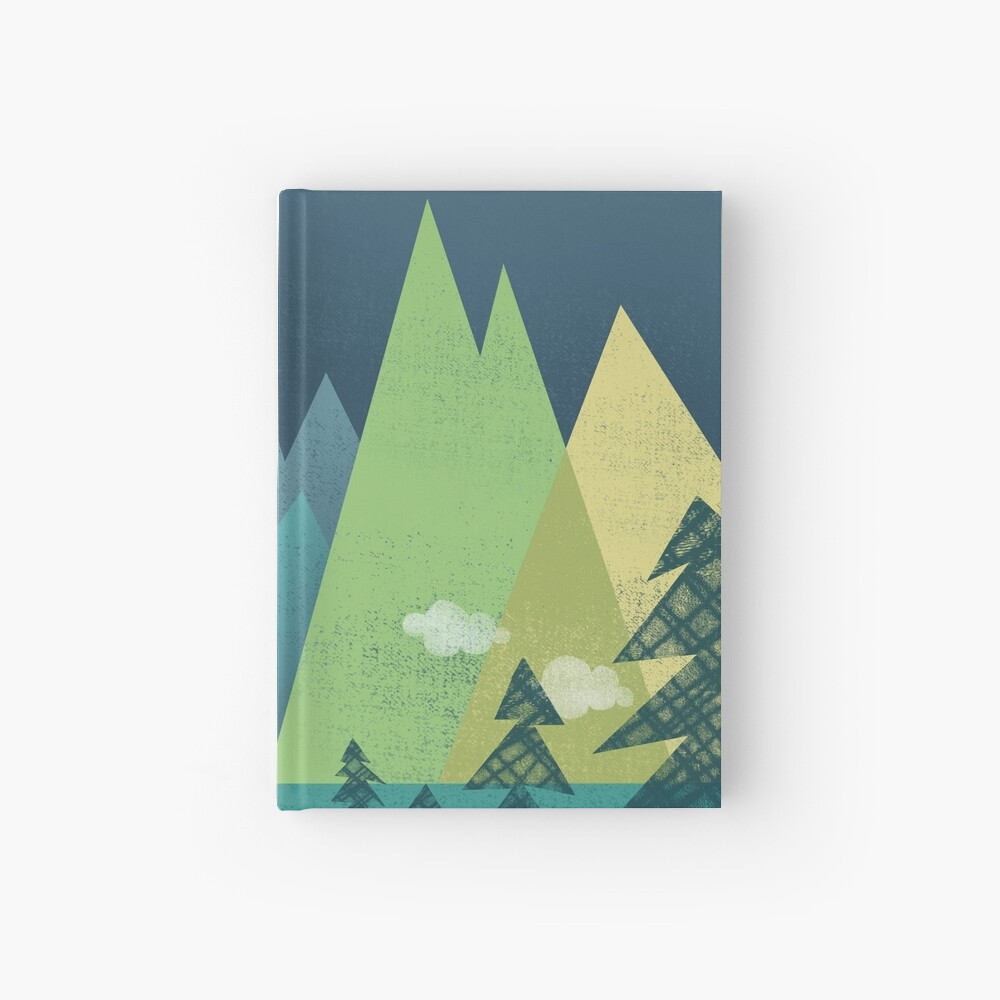 the Long Road at Night Hardcover Journal