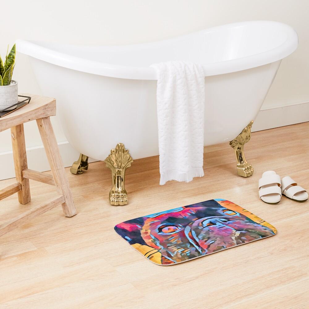 French Bulldog 6 Bath Mat