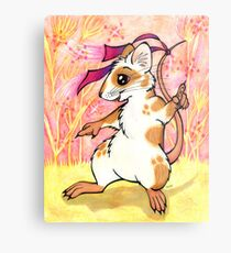 Boogie Mouse - Partying in the Field! Metal Print