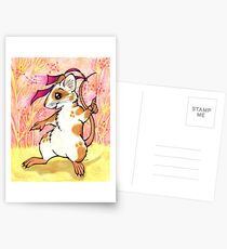 Boogie Mouse - Partying in the Field! Postcards