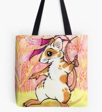 Boogie Mouse - Partying in the Field! Tote Bag