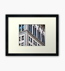 The City #2 Framed Print