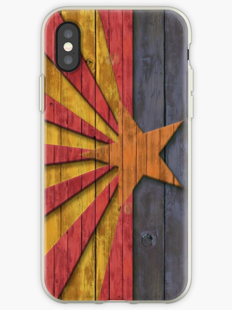 Vintage Distressed Flag of Arizona  by frittata