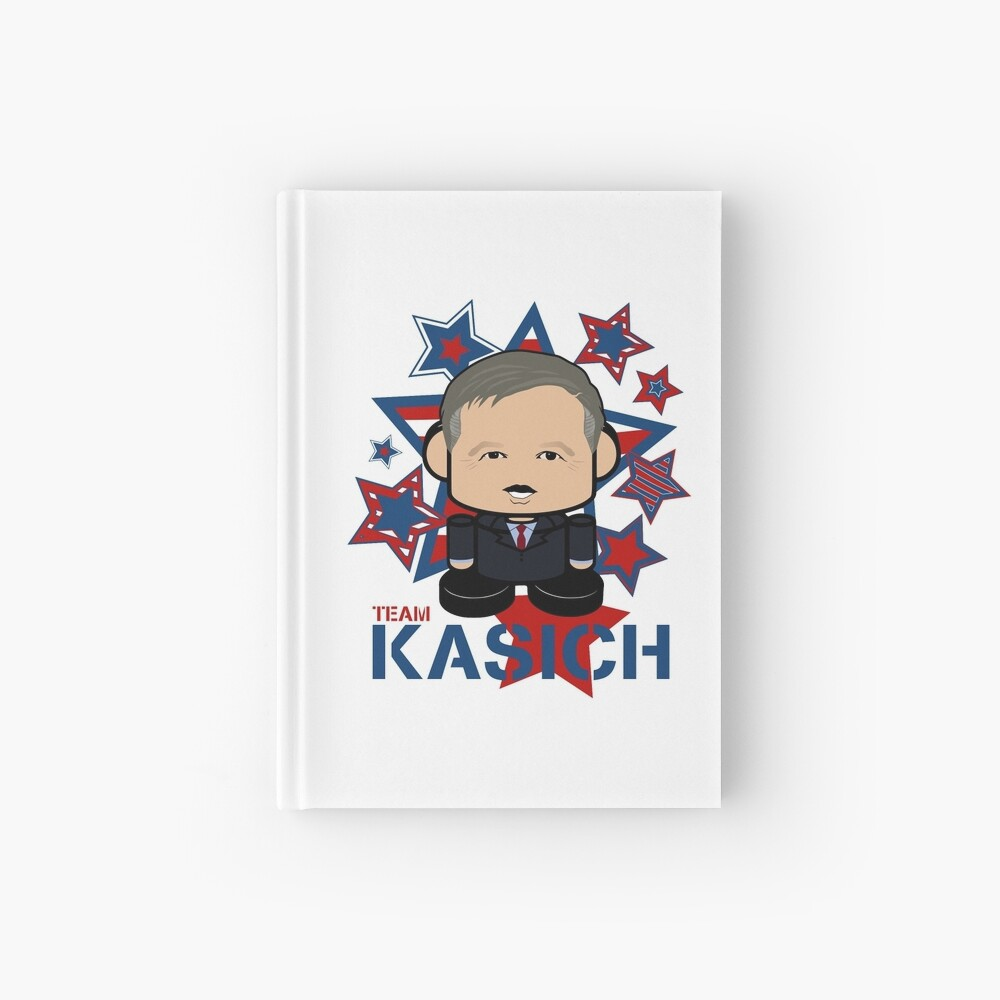 Team Kasich Politico'bot Toy Robot Hardcover Journal