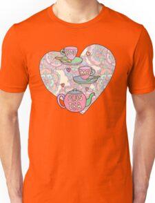 You, me, plus tea. Unisex T-Shirt