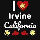 «Idea soleada del regalo de California Amo California CA EE. UU. Ciudad de Irvine» de DogBoo