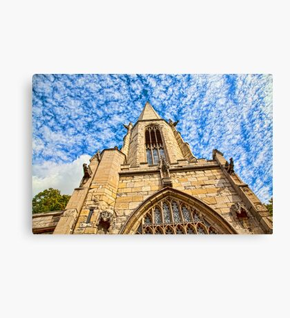 St Mary's Church, Castlegate York Canvas Print