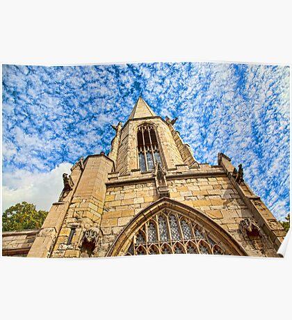 St Mary's Church, Castlegate York Poster