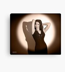 Holywood movie star Canvas Print