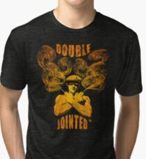 Double Jointed. Tri-blend T-Shirt