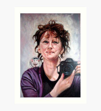portrait of Ellen Art Print