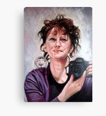 portrait of Ellen Canvas Print