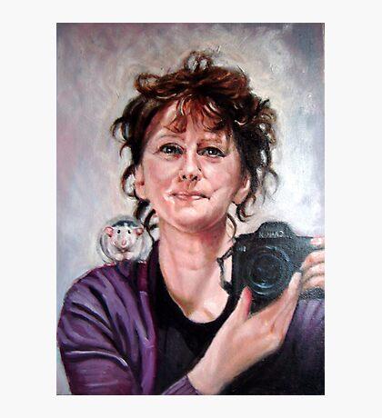 portrait of Ellen Photographic Print